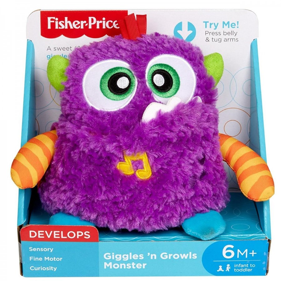 Fisher Price Giggles N Growls Monster