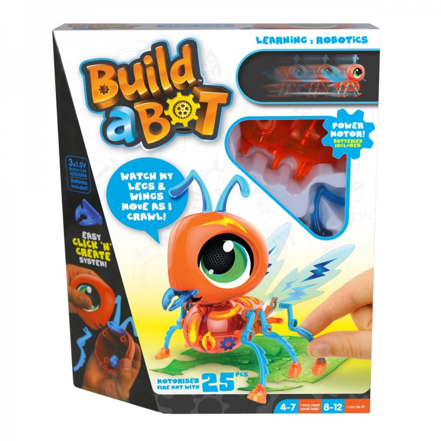 Build A Bot Bugs Fire Ant