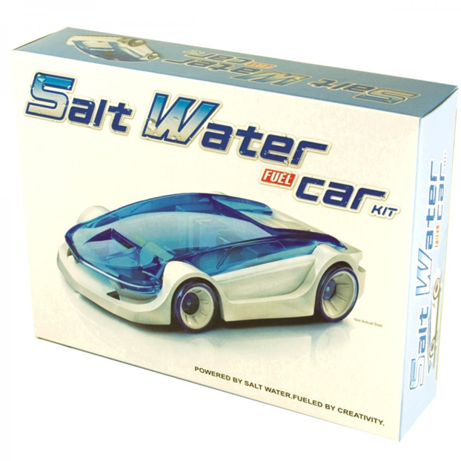 Salt Water Fuel Car