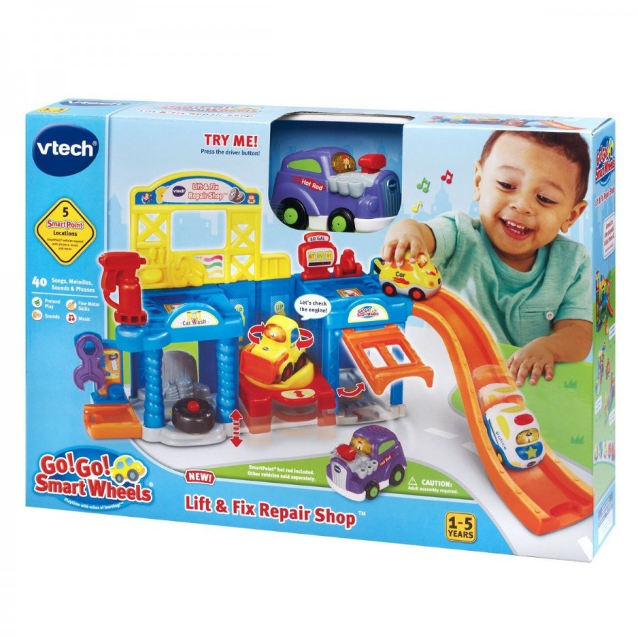 VTech Toot Toot Wheels Lift & Fix Repair Shop