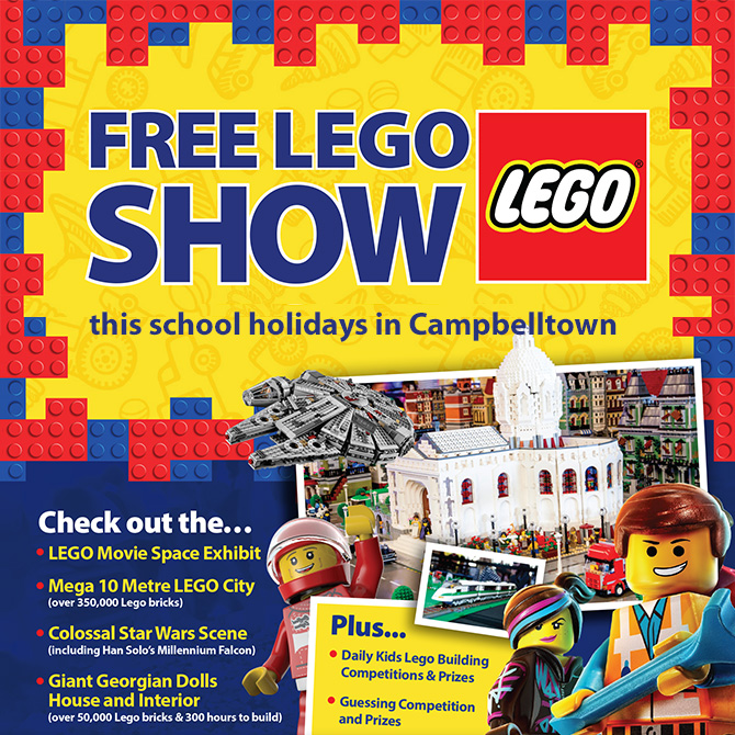 free lego show campbelltown