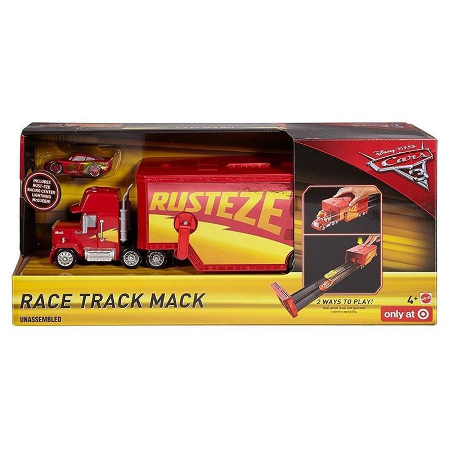 Disney Cars 3 Race Track Mack Playset