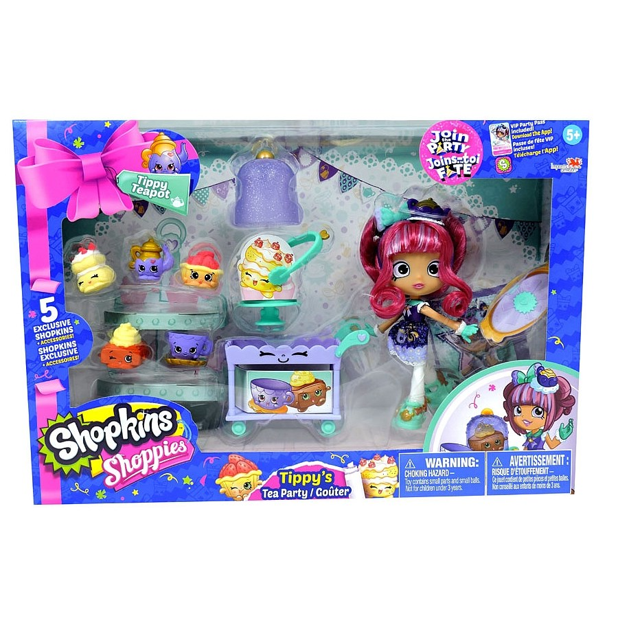Shopkins Shoppies Tea Party Playset