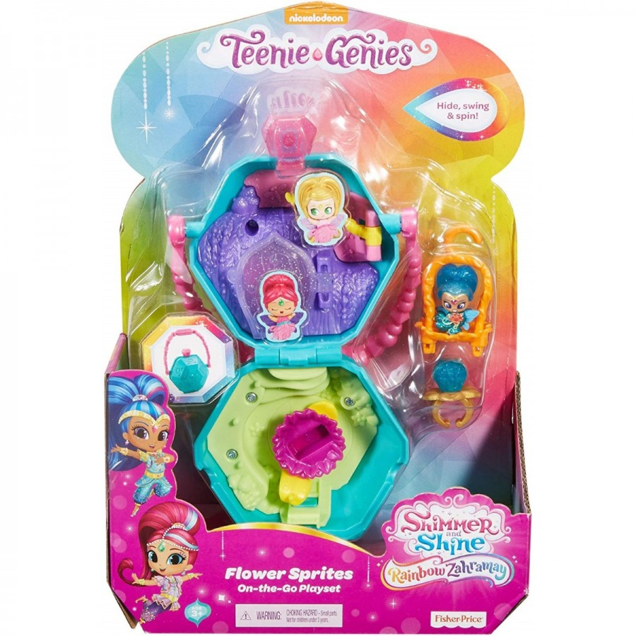 Shimmer & Shine Teenie Genies On The Go Playset Assorted