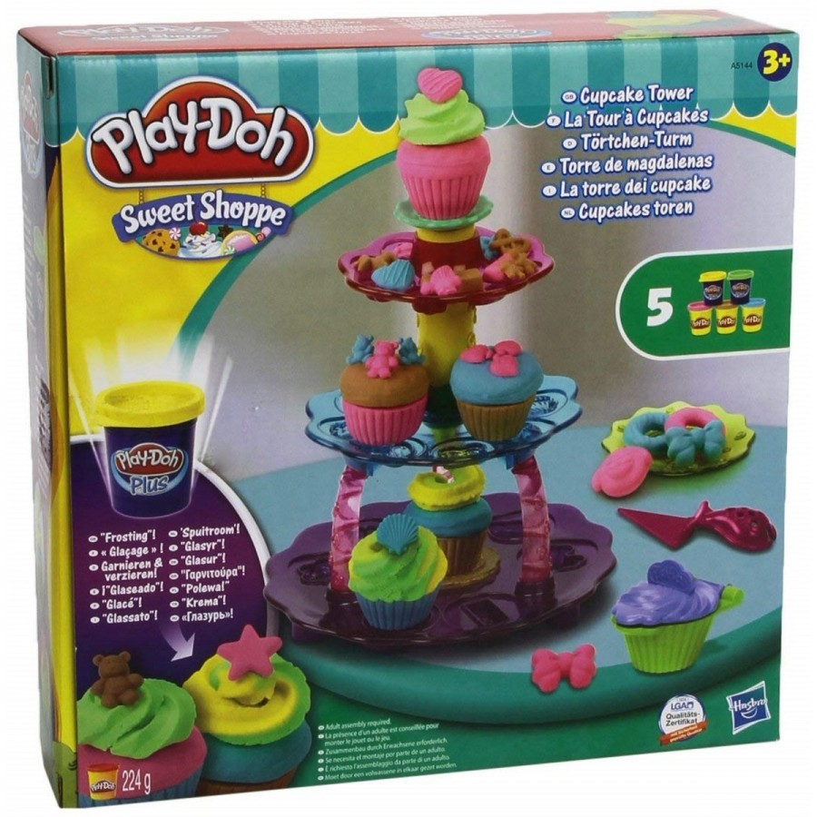Playdoh Sweet Shoppe Cupcake Tower