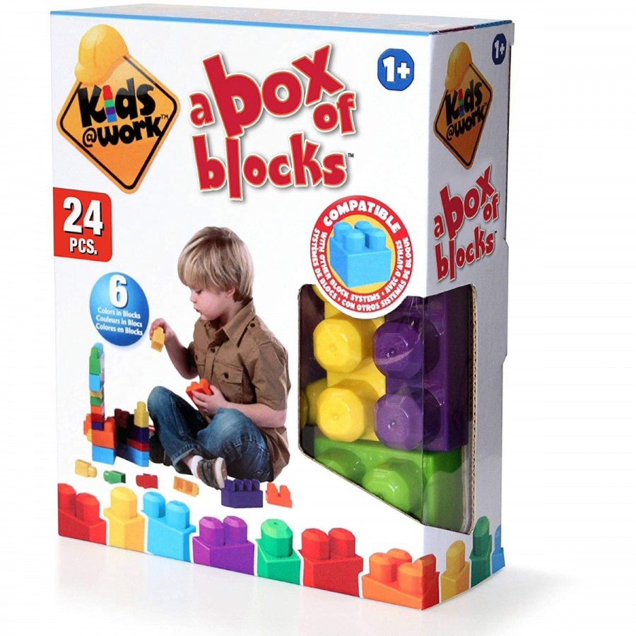 Kids At Work 24 Block Set