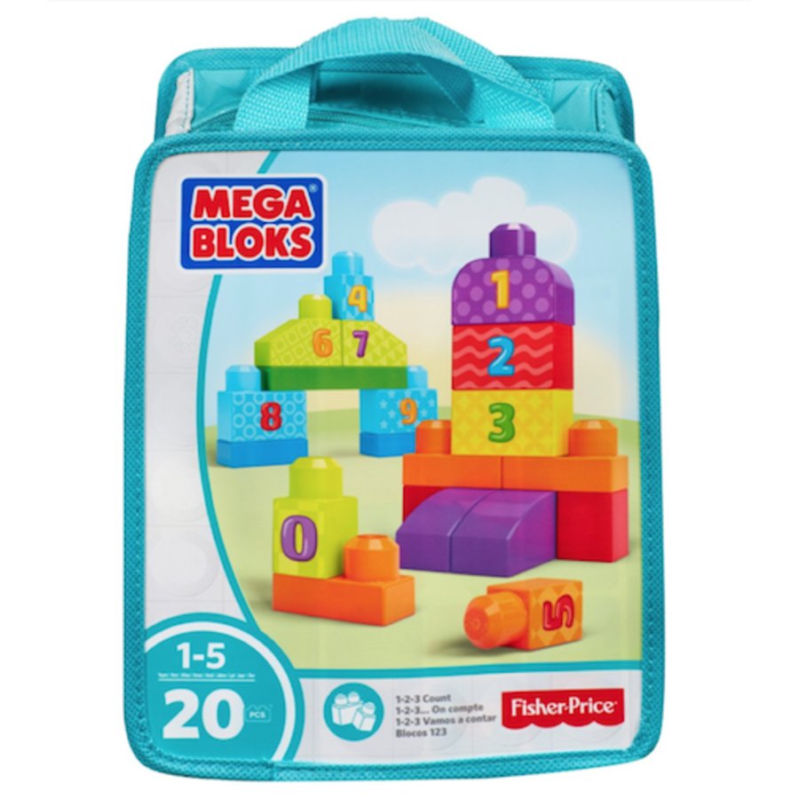 Mega Bloks Build & Learn Bags Assorted
