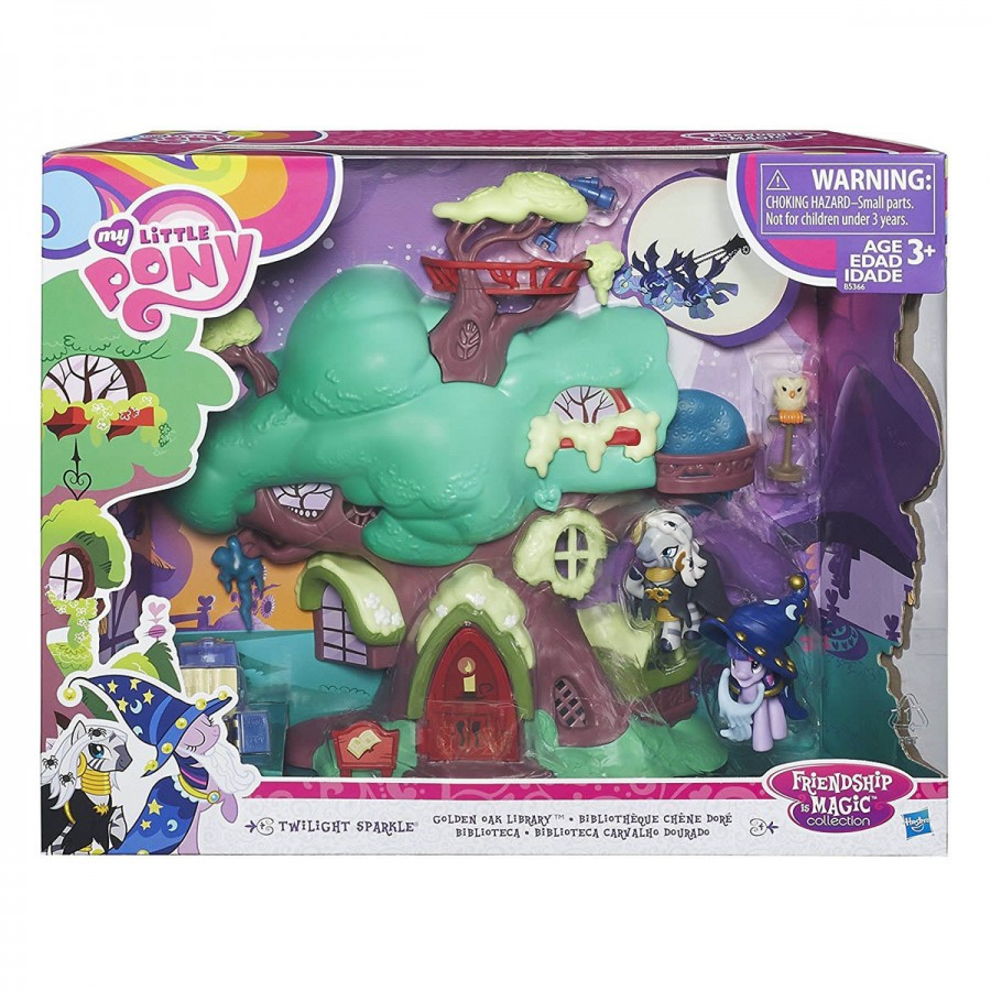 My Little Pony Golden Oak Library Set