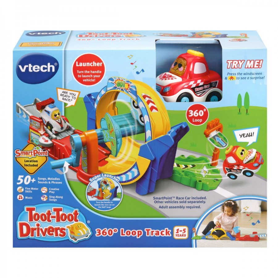 VTech Toot Toot Drivers 360 Degree Loop Track