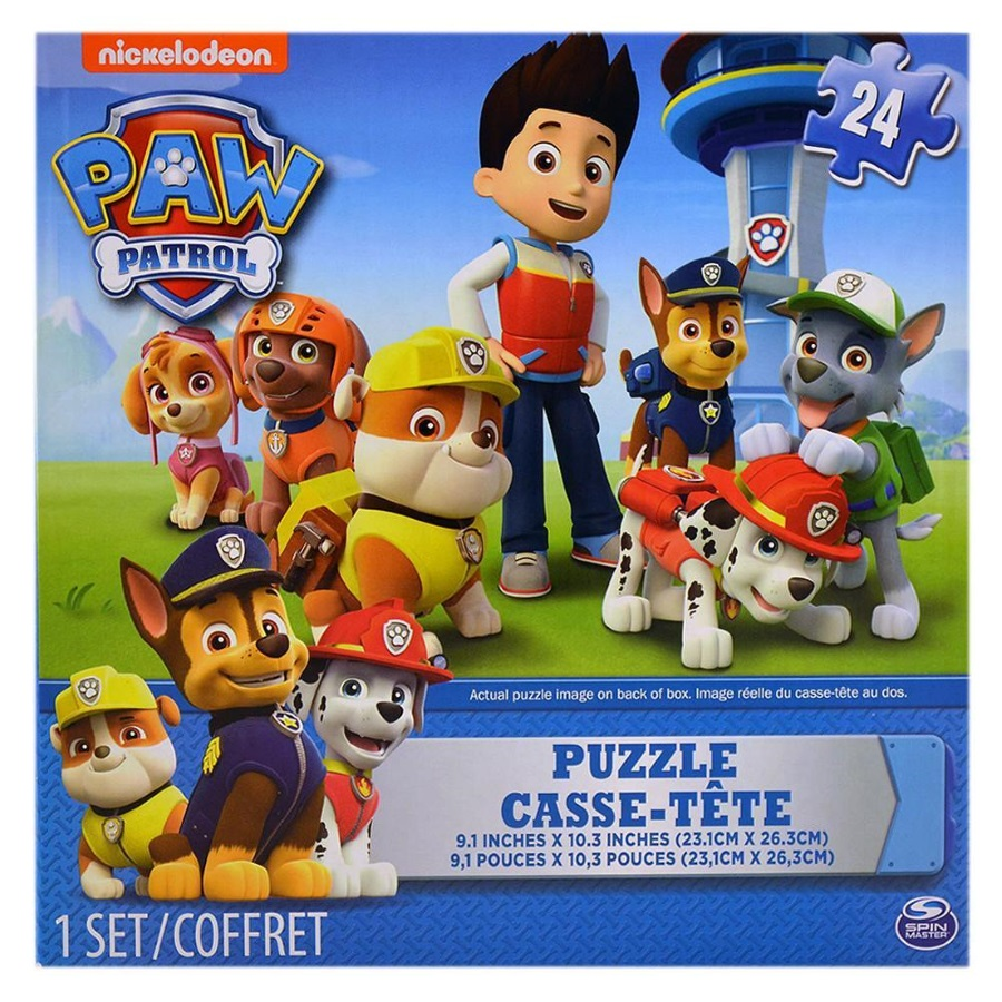 Paw Patrol 24 Piece Puzzle Assorted