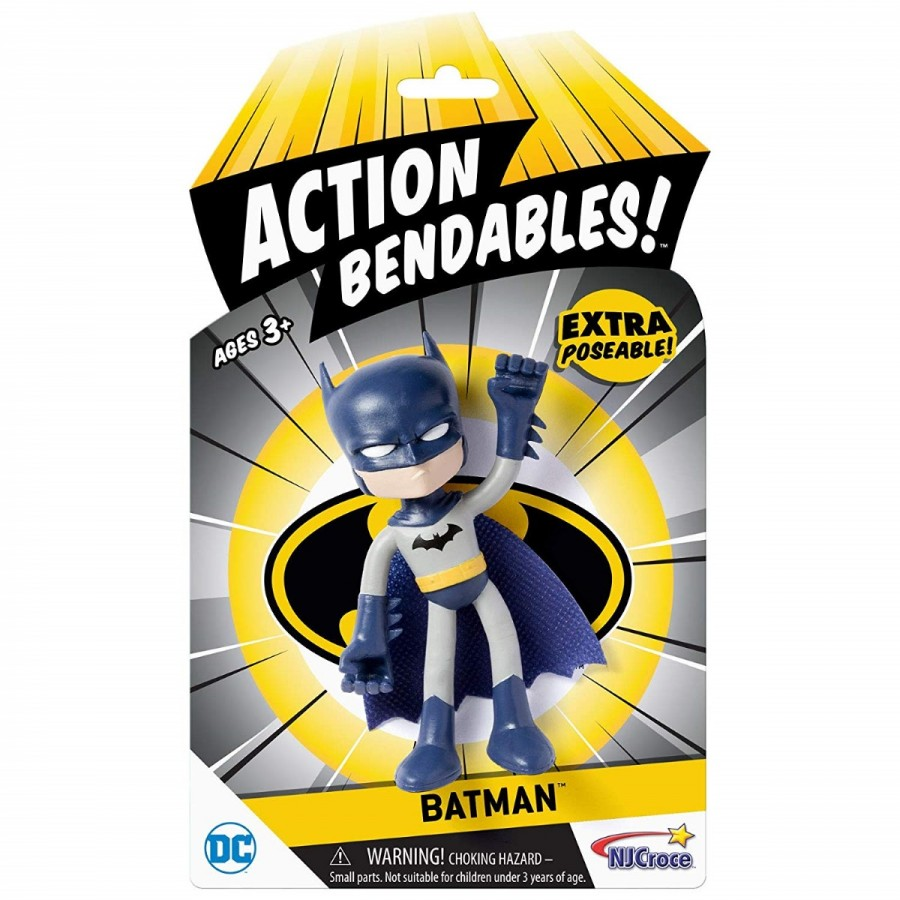 Bendables Justice League Action Figure 4 Inch Assorted