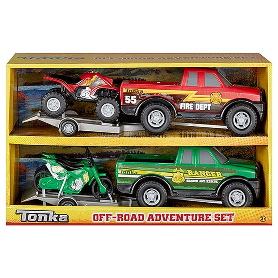 Tonka Off Road Adventure 2 Pack Assorted