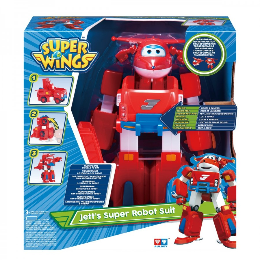 Super Wings Jetts Super Robot Suit