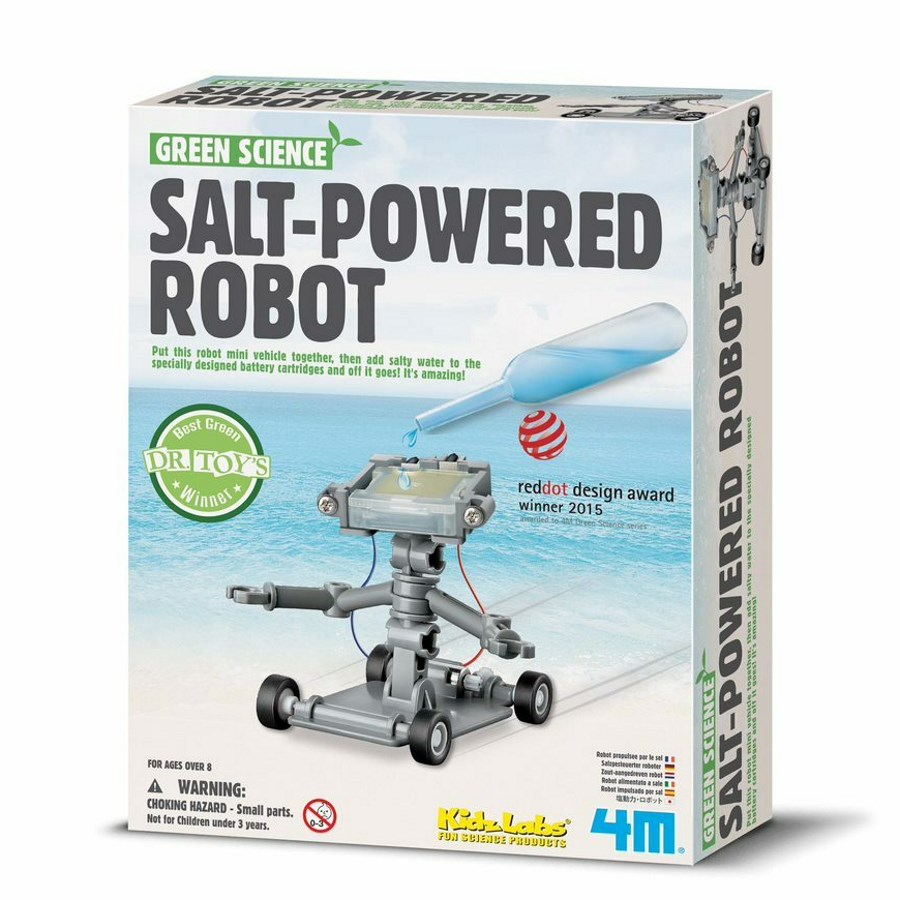 Green Science Salt Powered Robot