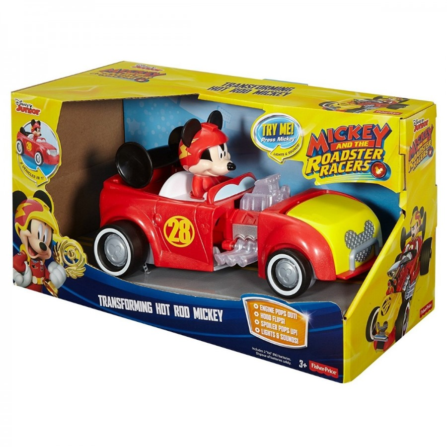 Mickey & The Roadsters Transforming Hot Rod