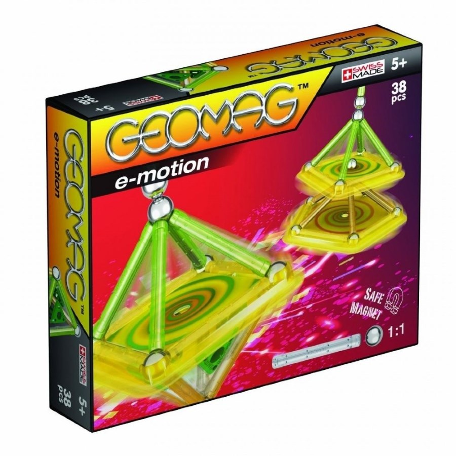 Geomag E Motion 38 Piece Set