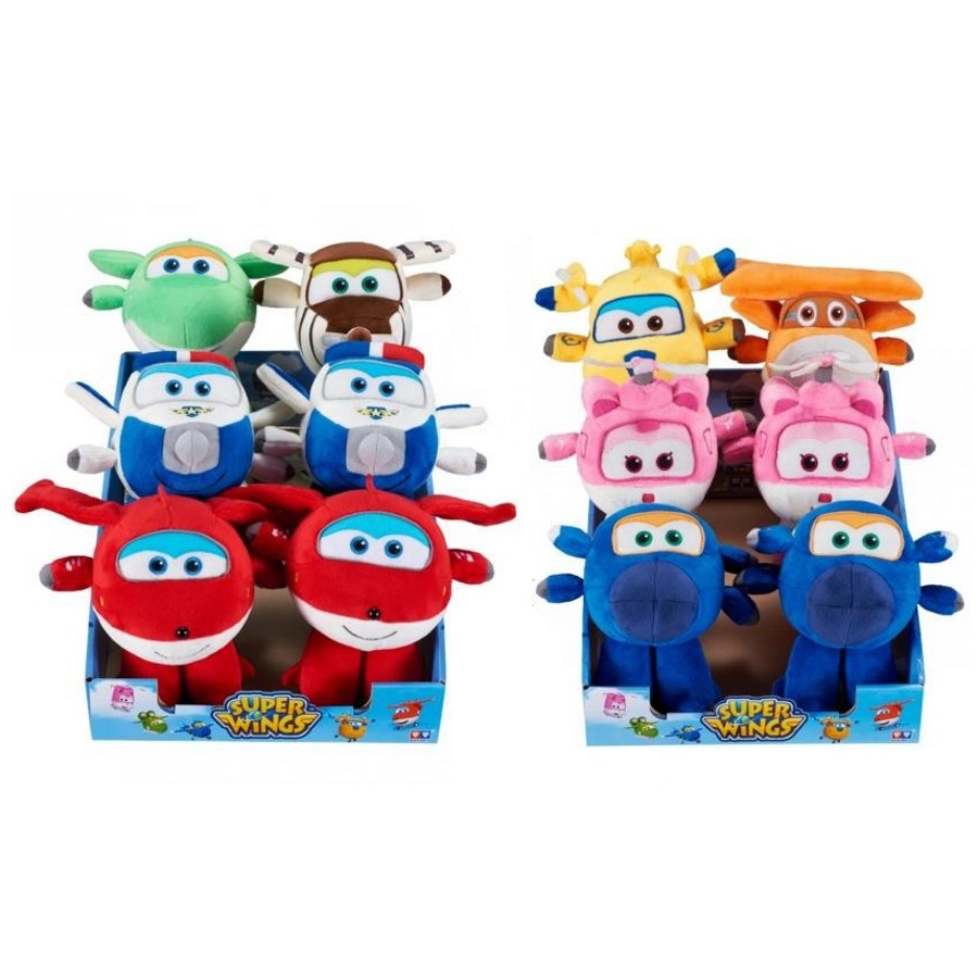 Super Wings Flying Friends Plush Assorted