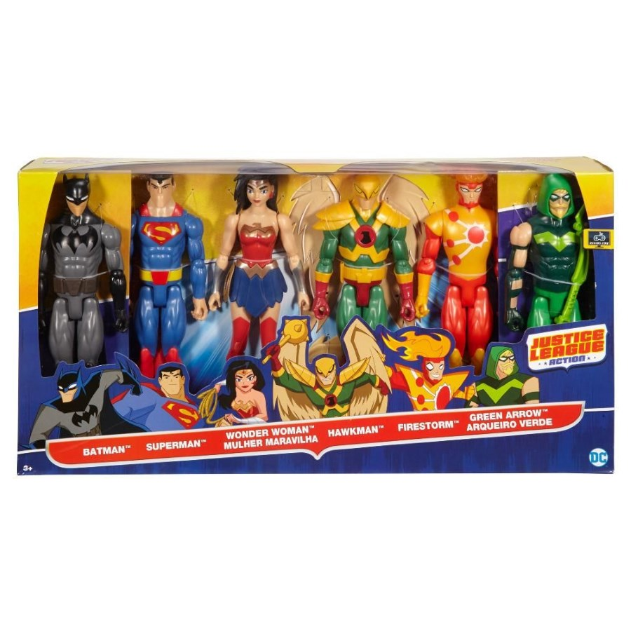 DC Superheroes 6 Pack