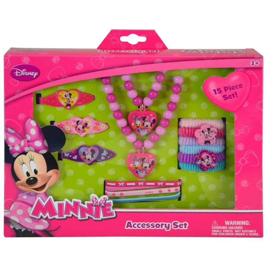 Minnie Hair Accessories 15 Pack