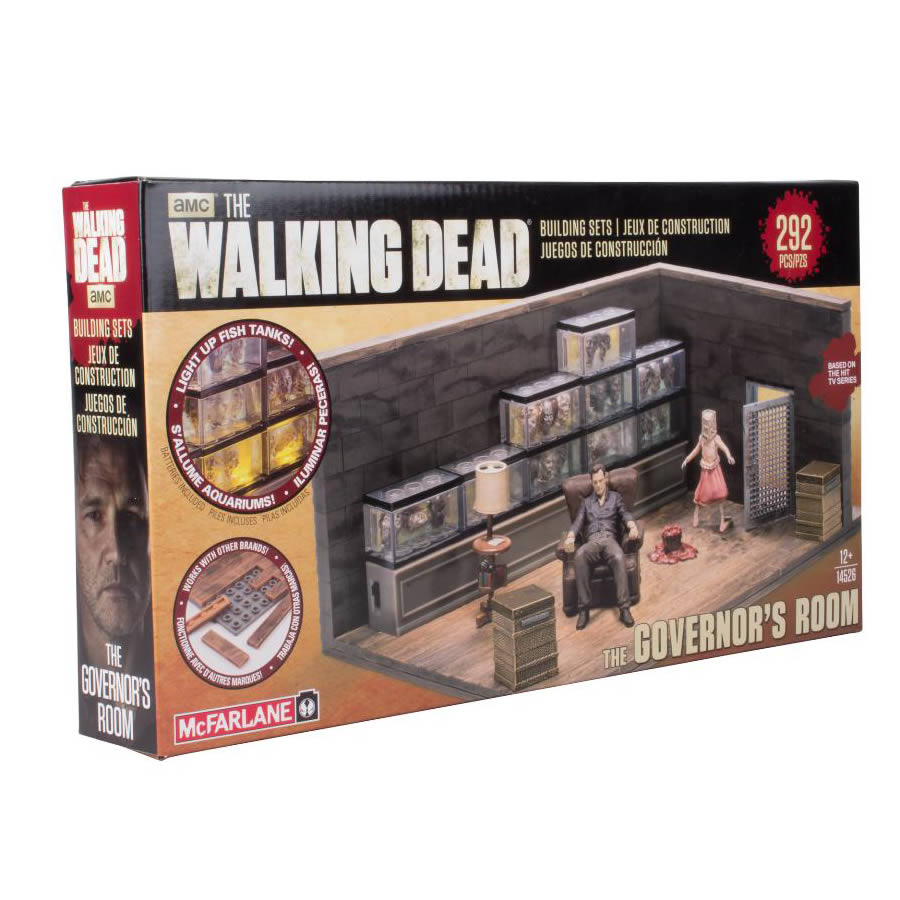 The Walking Dead Build Set Governor Room