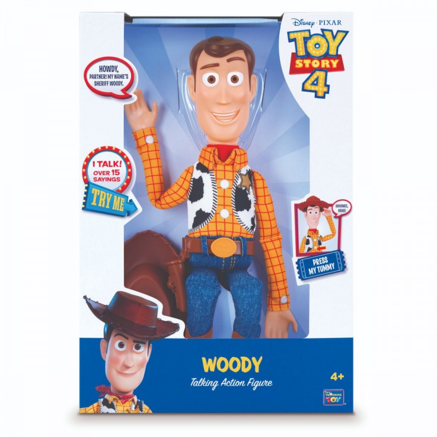 Toy Story 4 Talking Figure Sheriff Woody