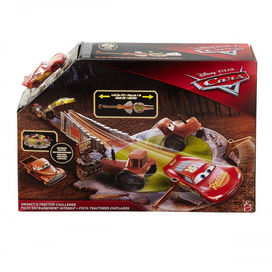 Disney Cars Smokeys Tractor Playset