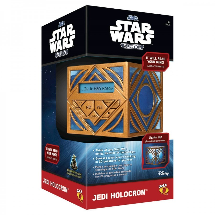 20 Questions Star Wars Jedi Holocron