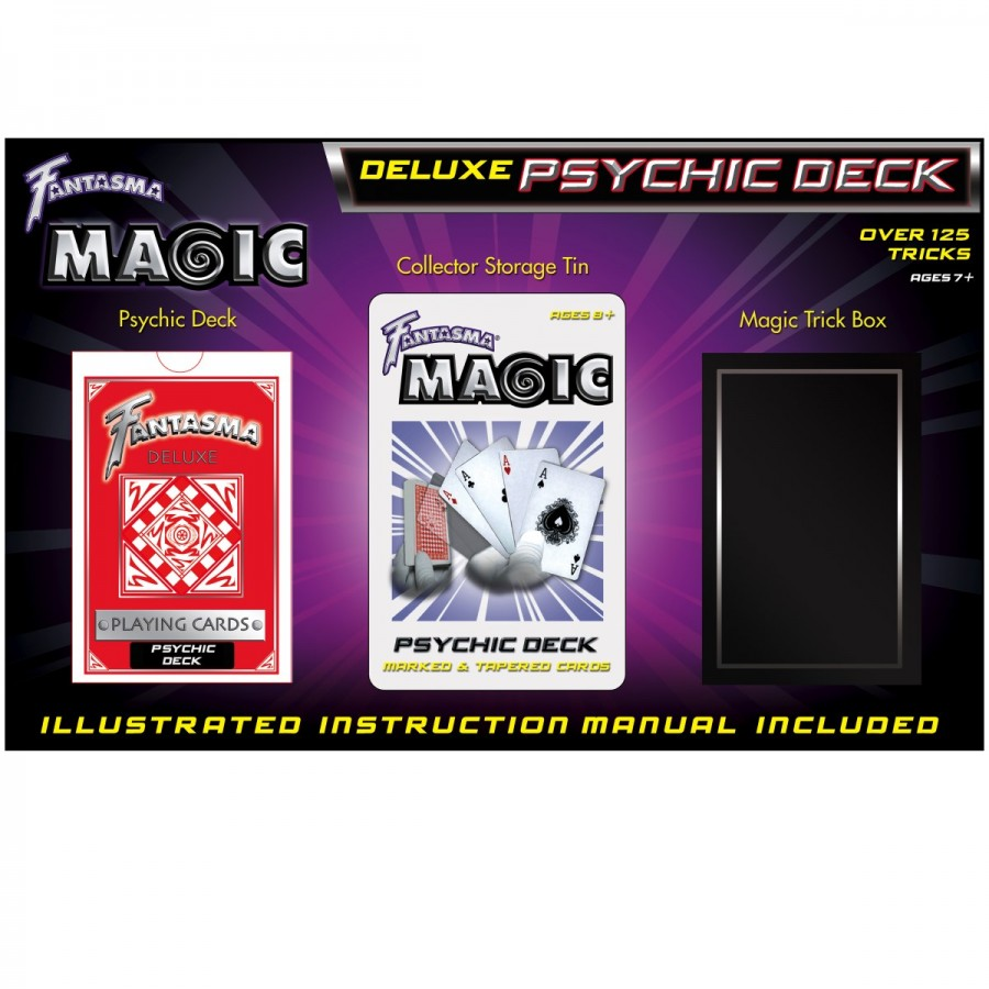 Fantasma Deluxe Psychic Card Set