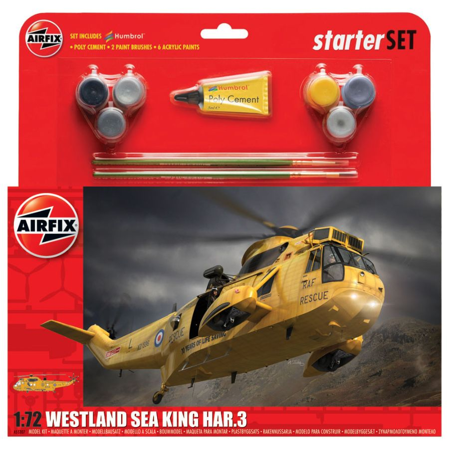 Airfix Starter Kit 1:72 Westland Sea King