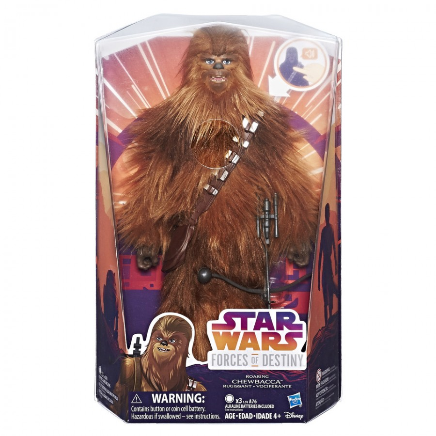 Star Wars Forces Of Destiny Chewbacca Electornic