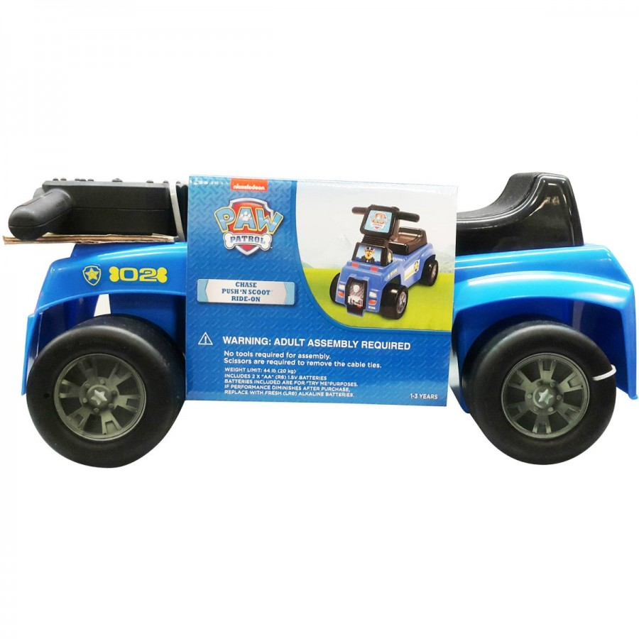 Paw Patrol Scoot N Ride With Sound