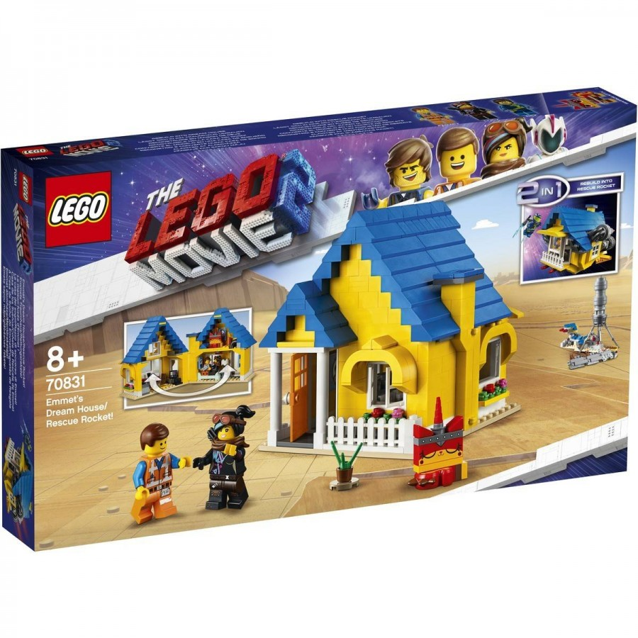 LEGO Movie 2 Emmets Dream House Rescue Rocket