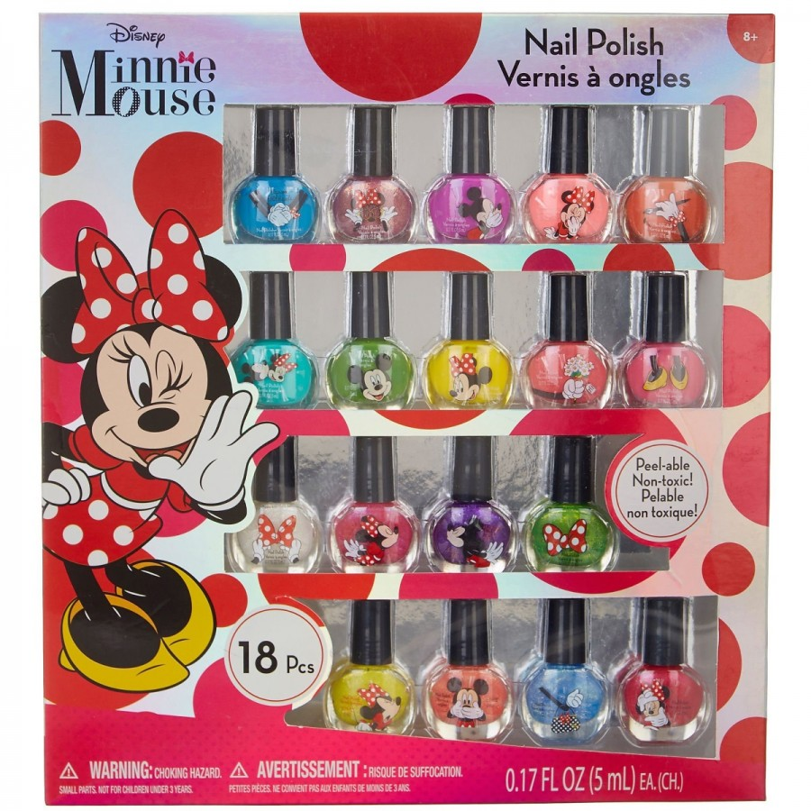 Minnie Nail Polish 18 Pack