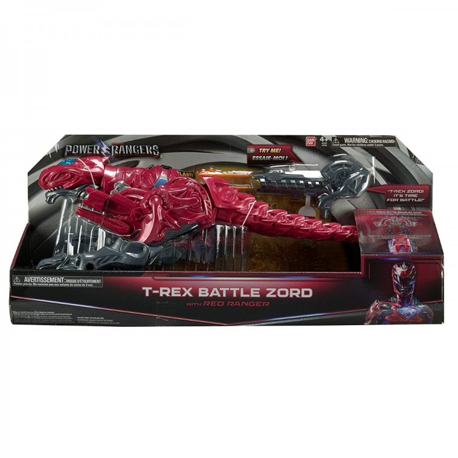 Power Rangers T Rex Battle Zord