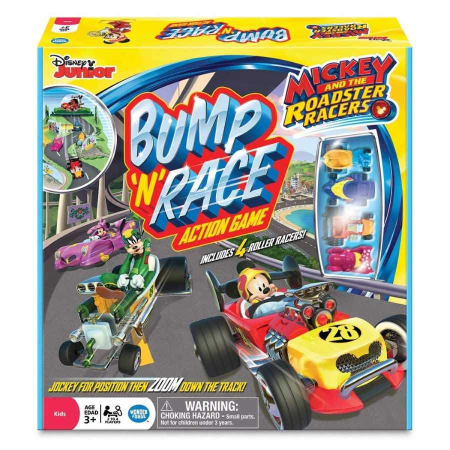 Mickey Roadsters Bump N Race Action Game