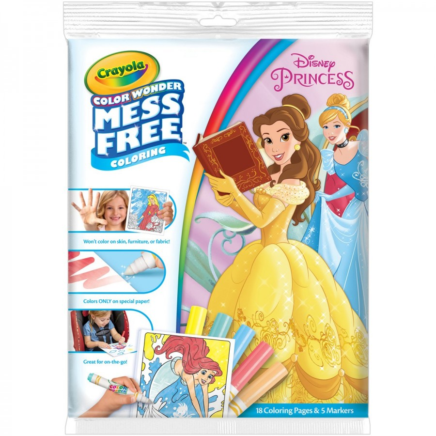 Crayola Colour Wonder Mess Free Disney Princess