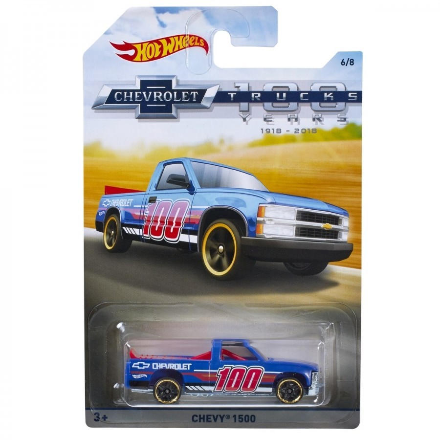 Hot Wheels Chevy Trucks Assorted