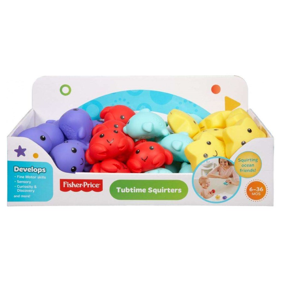 Fisher Price Tubtime Squirters Assorted