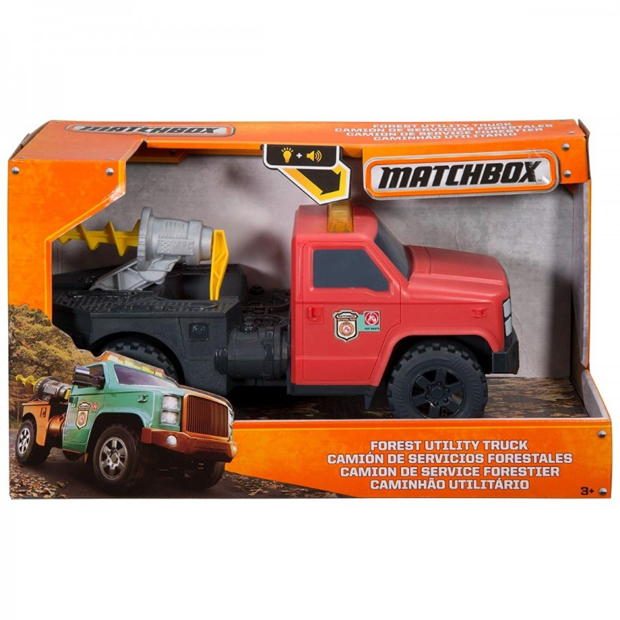 Matchbox Light & Sound Vehicle Large Assorted