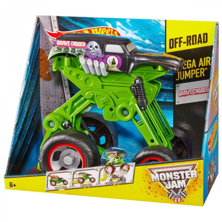 Hot Wheels Monster Jam Mega Air Jumper Assorted