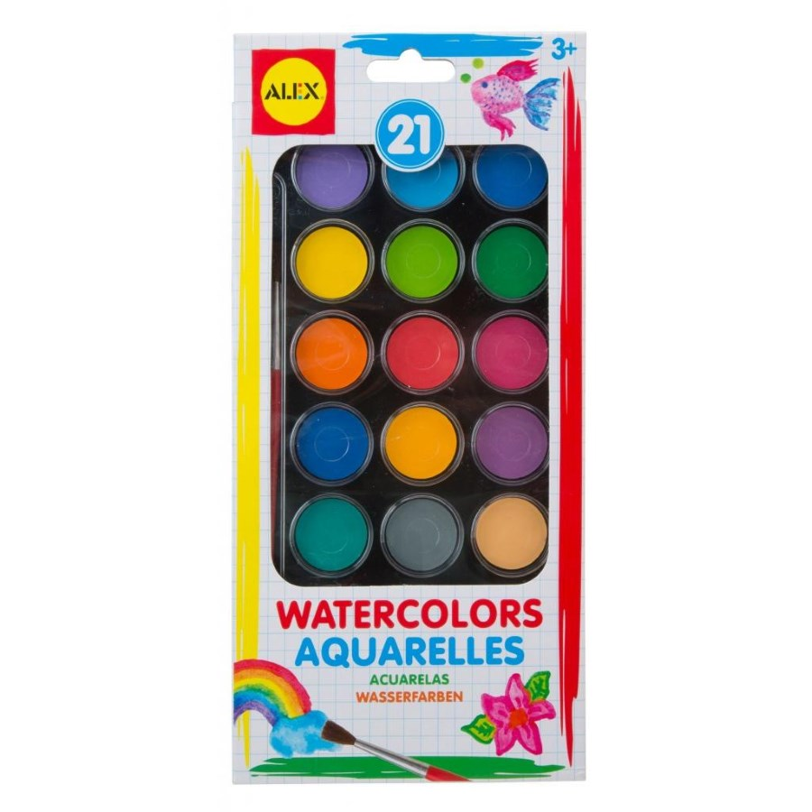 Alex Watercolours 21 Pack